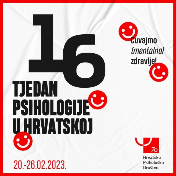 12. tjedan psihologije u Hrvatskoj